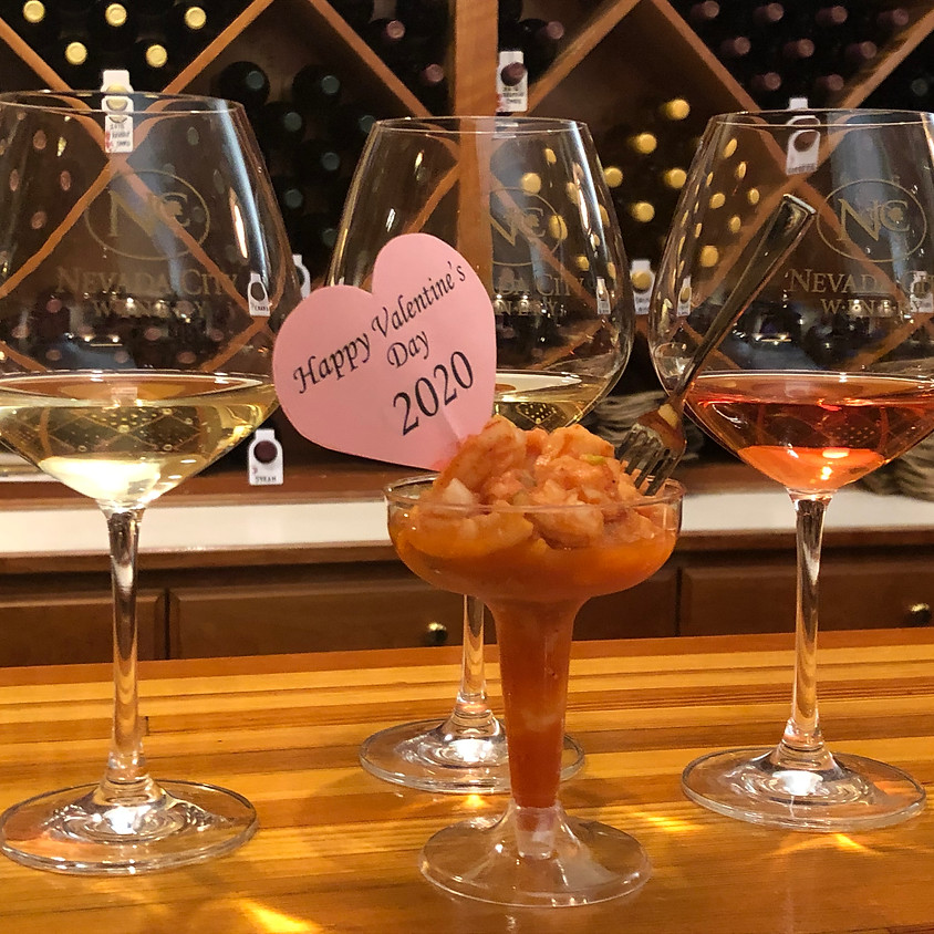 Just for Fun – Three Wines and Shrimp Cocktail