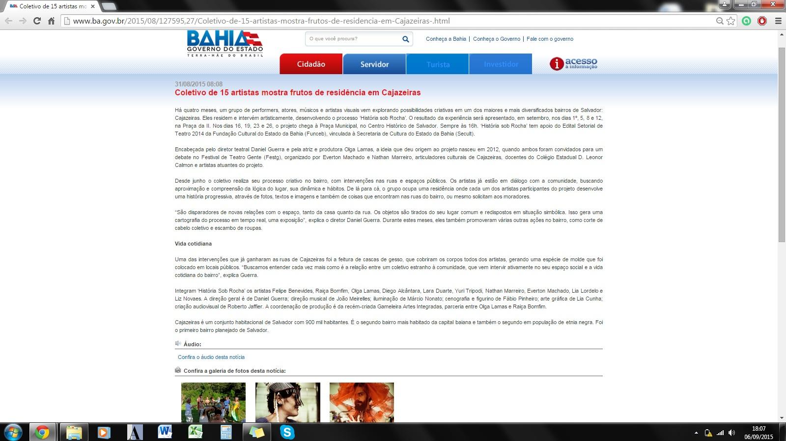 2015_HSR_Site Governo da Bahia