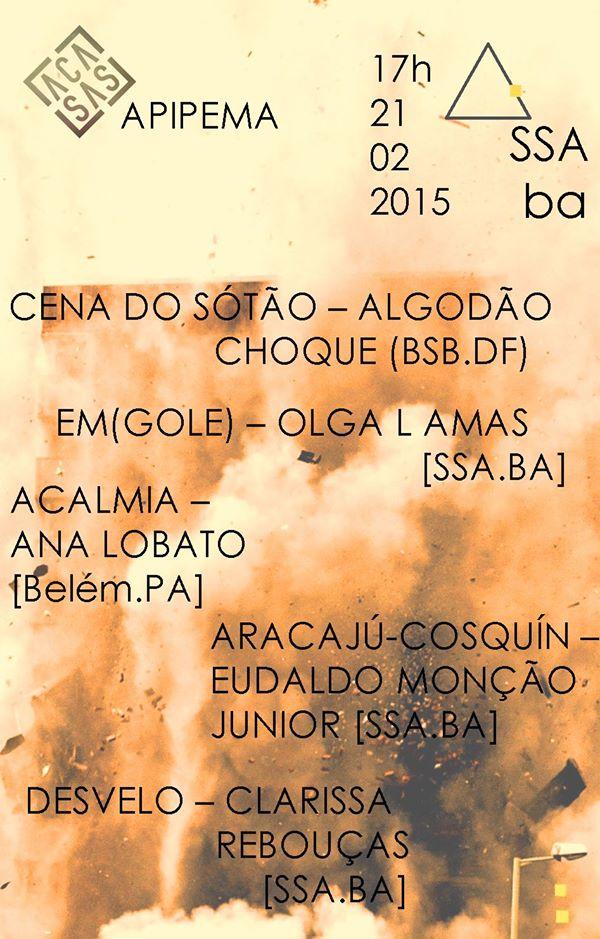 2015_Em_Gole_vídeo_Mostra_de_vídeos_ACASAS