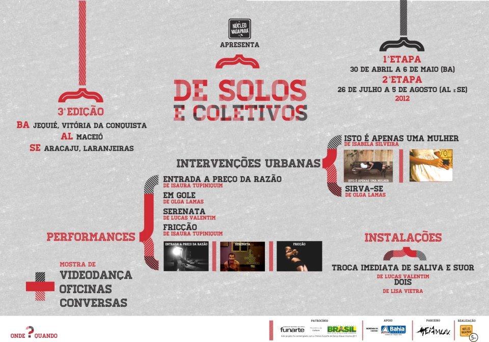2012_De Solos e Coletivos III_Cartaz 2a etapa
