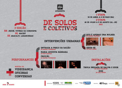 2012_De Solos e Coletivos III_Cartaz 1a etapa