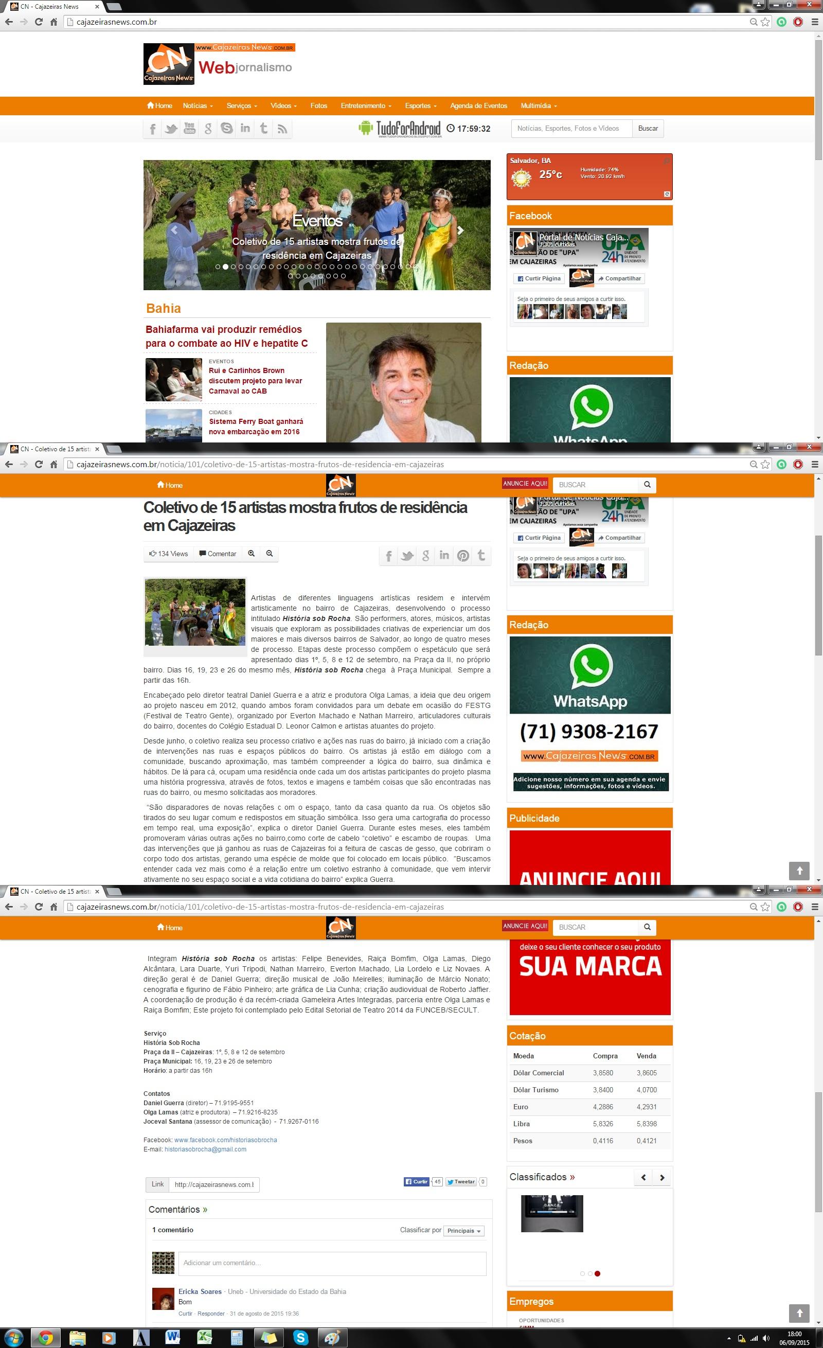 2015_HSR_Site Cajazeiras News