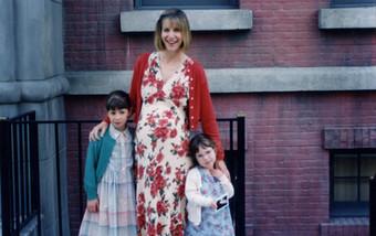 Deena with her daughters