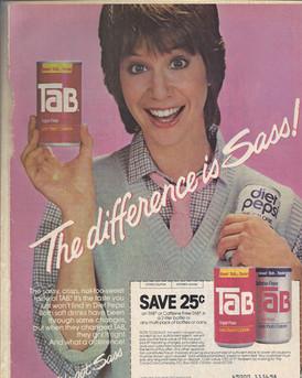 Deena in a commercial