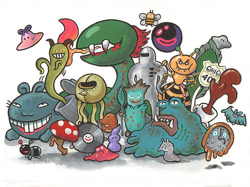 Earthbound Enemies