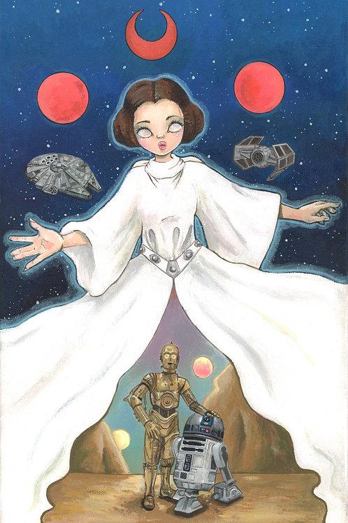 Space Goddess print