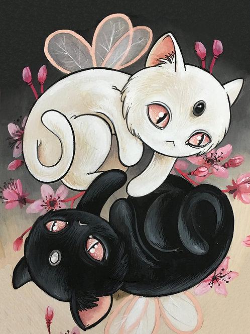Yin Yang Kitties