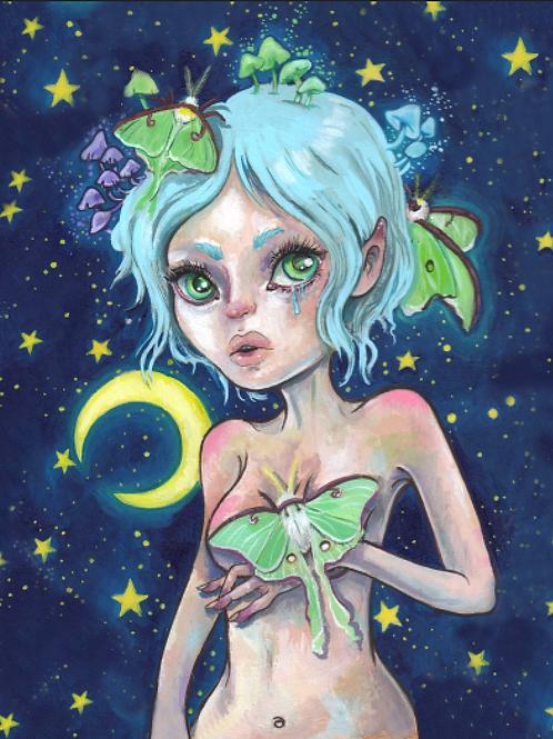 Little Luna 11x14 Print