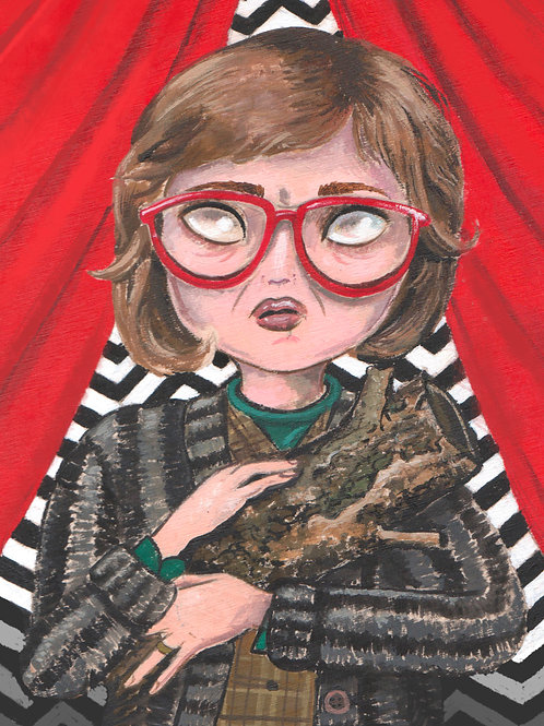 Log Lady - Twin Peaks