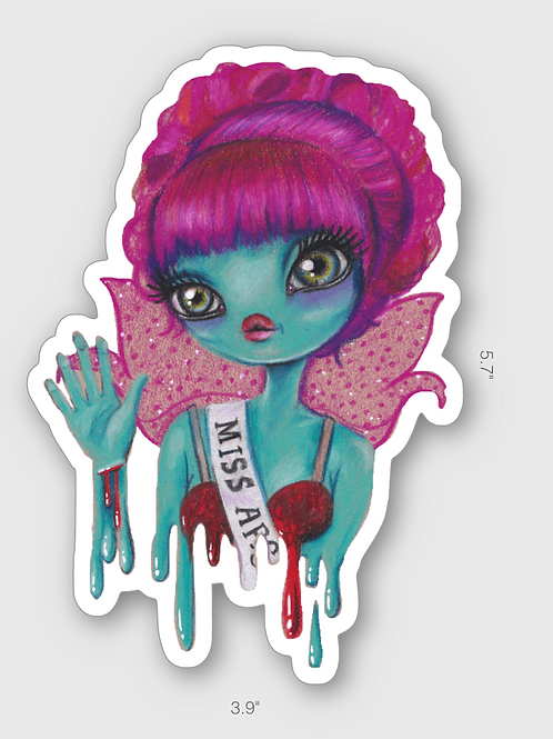 Miss Argentina sticker