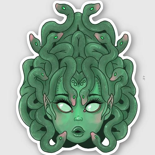 Medusa -  vinyl sticker