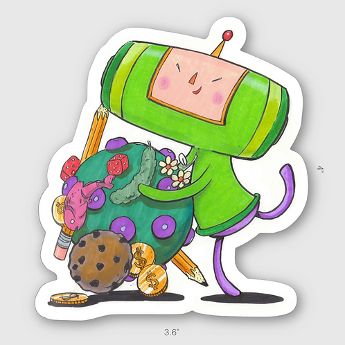 Katamari Prince sticker