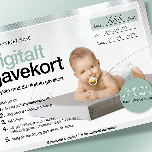 Baby Safety Base Gavekort