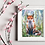 Thumbnail: Sitting Fox Fine Art Print
