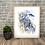Thumbnail: Gull and Cliffs Fine Art Print
