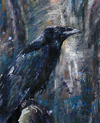 Crow Fine Art Print