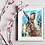 Thumbnail: Hare in Blue Fine Art Print