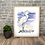 Thumbnail: Little Egret Original Watercolour