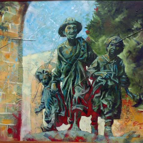 Le gavroche - oil, 2008.jpg