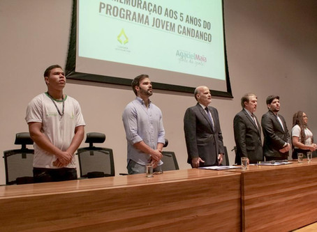 Deputado Agaciel Maia comemora 5 anos do Programa Jovem Candango