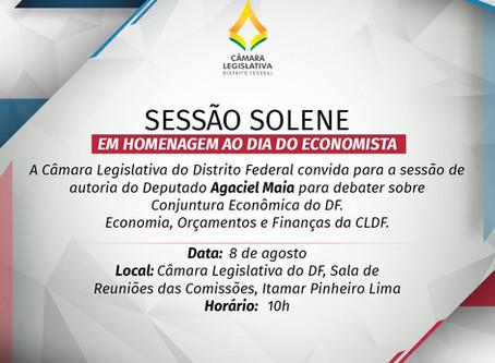 Sessão Solene - Dia do Economista