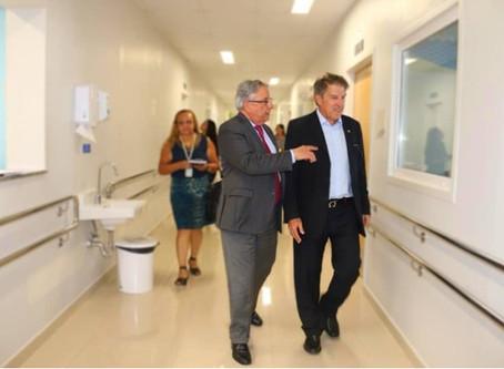 Deputado Agaciel Maia destina 1 milhão de reais em emenda para o Hospital da Criança