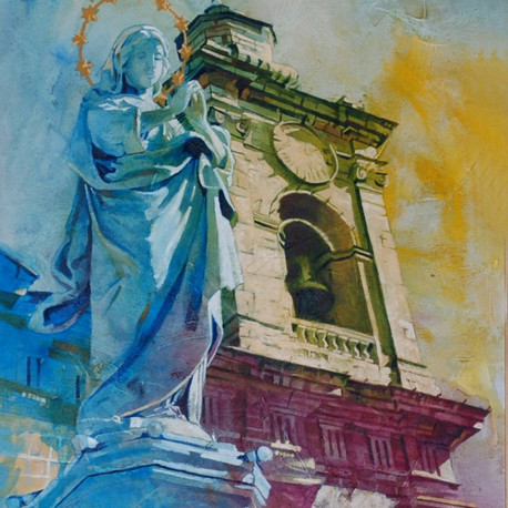 Immaculate Conception - oils, 2009.jpg