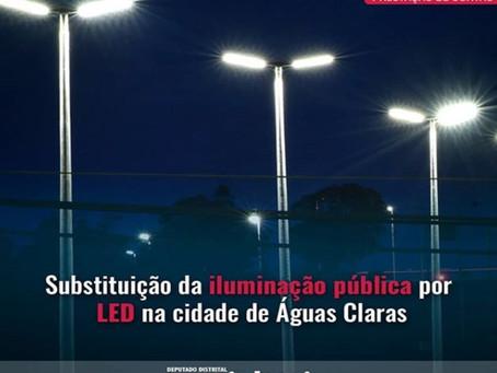 Águas Claras ainda mais iluminada