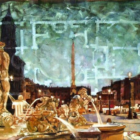 Piazza Navona - oils, 2008.jpg