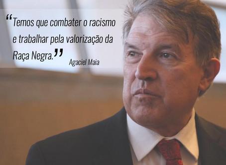 Deputado Agaciel Maia forma Frente Parlamentar em Valorização a Raça Negra