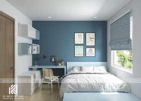 Thiết kế phòng ngủ master căn hộ Hoàng Quân Nha Trang - IKI200032