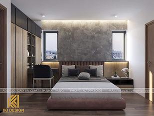 Thiết kế nội thất căn hộ HUD Building Nha Trang 70m2 - IKI200000