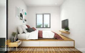 Thiết kế phòng ngủ master nhà phố Nha Trang 120m2 - IKI190014