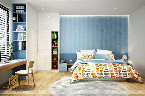 Thiết kế phòng ngủ trẻ em nhà phố Nha Trang 200m2 - IKI190030
