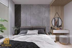 Thiết kế phòng ngủ master căn hộ CT4 Nha Trang 73m2 - IKI200078
