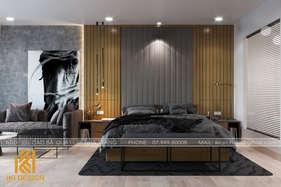 Thiết kế phòng ngủ master căn hộ Gold Coast Nha Trang 55m2 - IKI200052