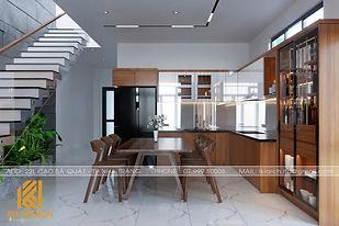 Thiết kế nội thất nhà phố Nha Trang 200m2 - IKI200056