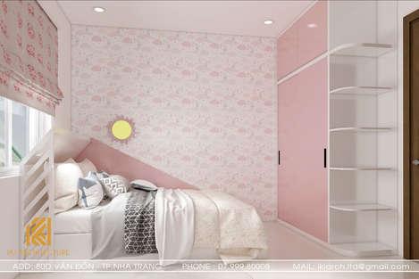 Thiết kế phòng ngủ trẻ em căn hộ CT2 VCN Nha Trang - IKI200010