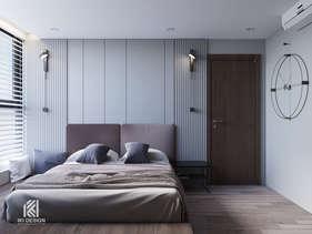 Thiết kế phòng ngủ master căn hộ HUD Building Nha Trang 65m2 - IKI210062