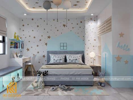 Thiết kế phòng ngủ trẻ em căn hộ CT4 Nha Trang 73m2 - IKI200050