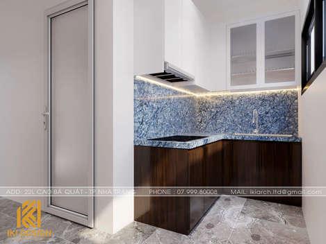 Thiết kế phòng bếp nhà phố Nha Trang 200m2 - IKI200000
