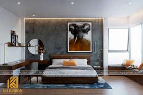 Thiết kế phòng ngủ master nhà phố Mỹ Gia Nha Trang 280m2 - IKI200047