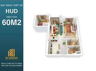 Mặt bằng thiết kế căn hộ HUD Nha Trang