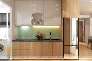 Thiết kế nội thất căn hộ Hoàng Quân Nha Trang 65m2 - IKI200030