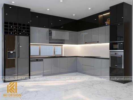 Thiết kế phòng bếp nhà phố Mỹ Gia Mỹ Gia 280m2 - IKI200047