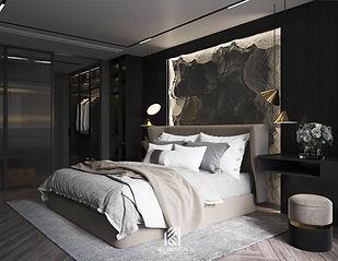 Thiết kế nội thất căn hộ chung cư Nha Trang 150m2 - IKI210060