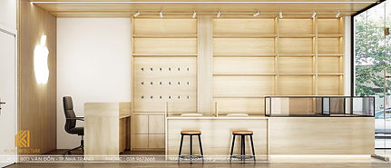 Thiết kế nội thất Shop điện thoại Nha Trang - IKI190068