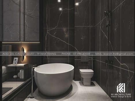Thiết kế restroom nhà phố Nha Trang 150m2 - IKI200028