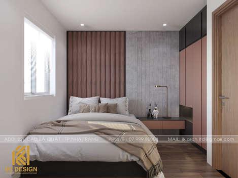 Thiết kế phòng ngủ trẻ em căn hộ HUD Nha Trang 70m2 - IKI200000