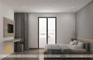 Thiết kế nội thất khách sạn Nha Trang 400m2 - IKI200042